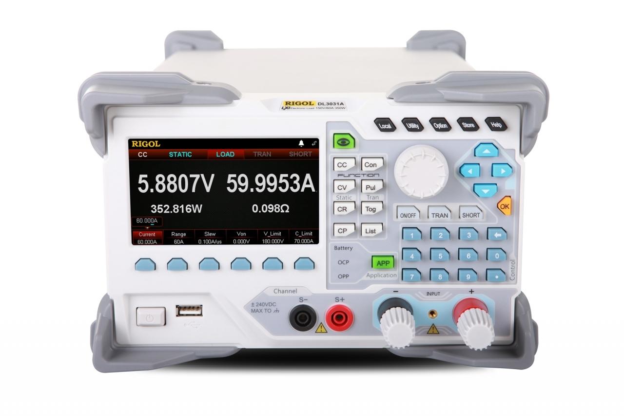 Rigol DL3021A Programovatelná DC elektronická zátěž 200W / 150V / 40A