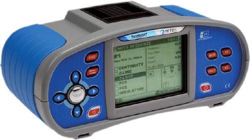 EUROTEST AT MI 3101 sdružený revizní přístroj včetně kalibrace