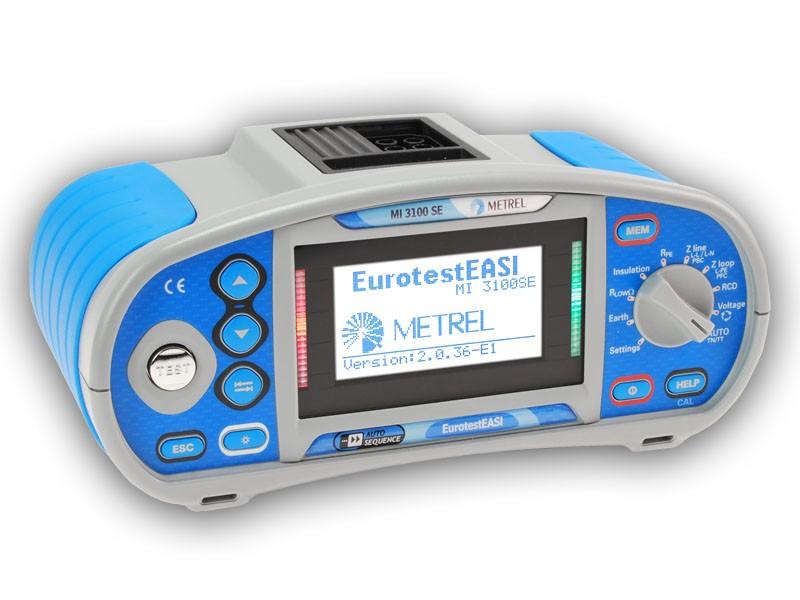 sdružený revizní přístroj Metrel Eurotest EASI MI3100SE